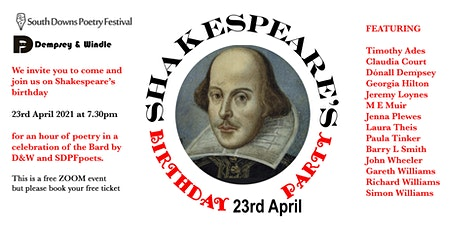 Shakespeare's Birthday Poetry Party tickets