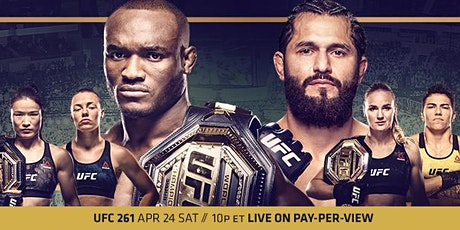 Saturday April 24th UFC 261 Official Viewing Party @ InsideMan Headquarters tickets