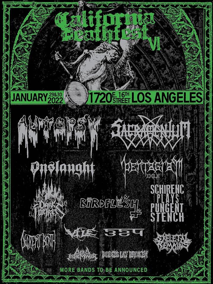 California Deathfest VI image