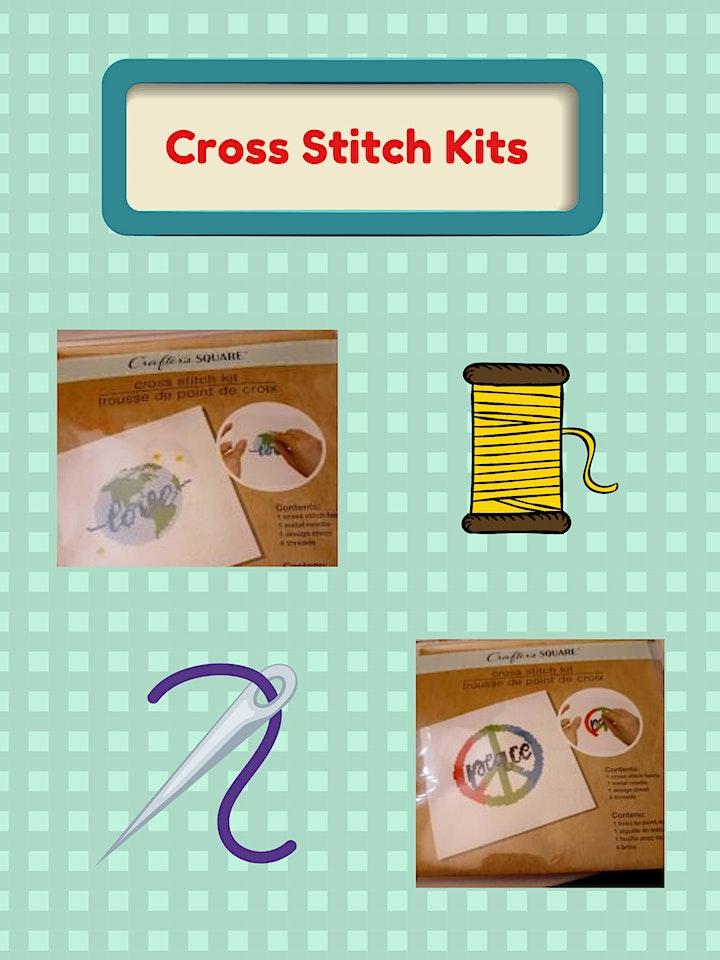 Cross Stitch Kit (Ages 10+) image