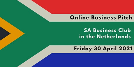 Online Business Pitch - South African Business Club in the Netherlands tickets
