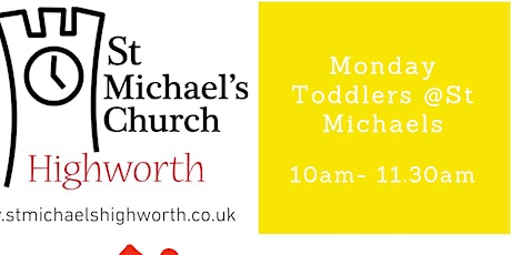 Monday Toddlers @ St Michaels tickets