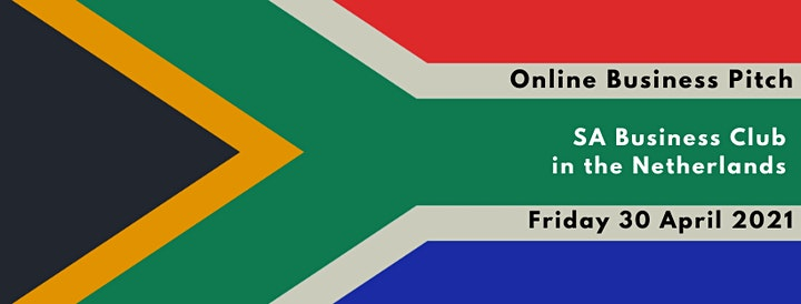 Online Business Pitch - South African Business Club in the Netherlands image