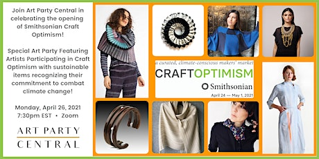 Special Art Party Preview of Smithsonian Craft Optimism! tickets