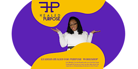 Leaders Healed for Purpose tickets