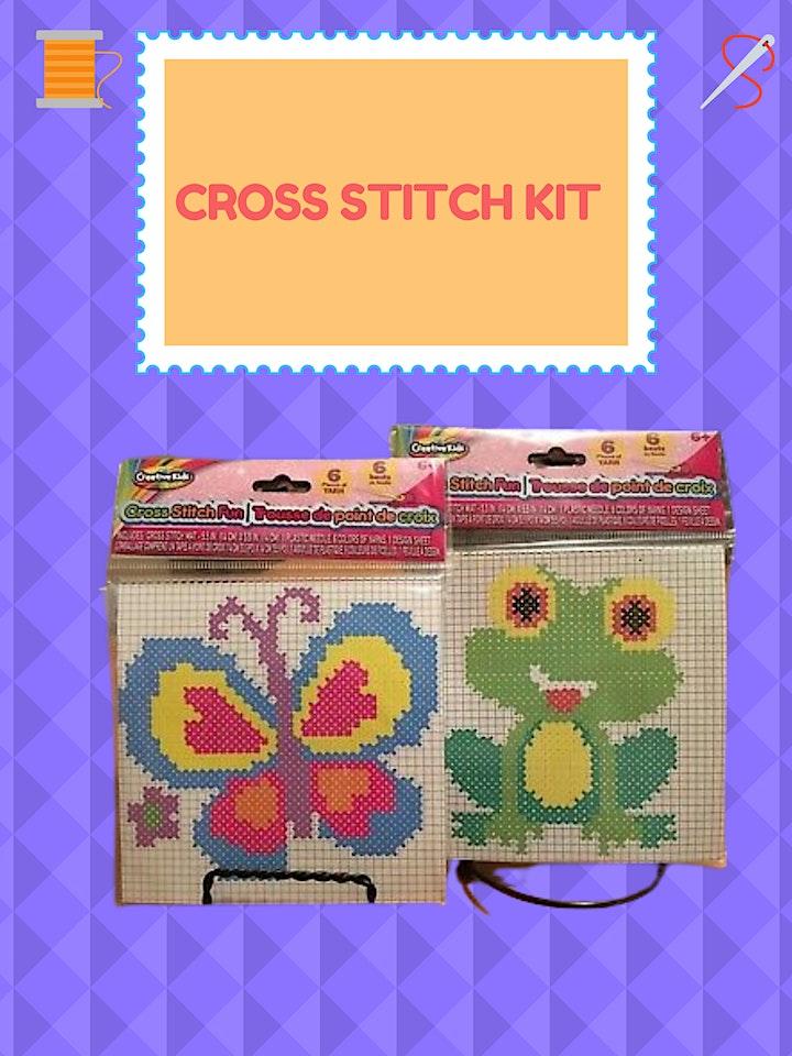 Cross Stitch Kit (Ages 6+) image