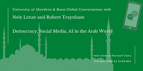 Democracy, Social Media, AI in the Arab World tickets