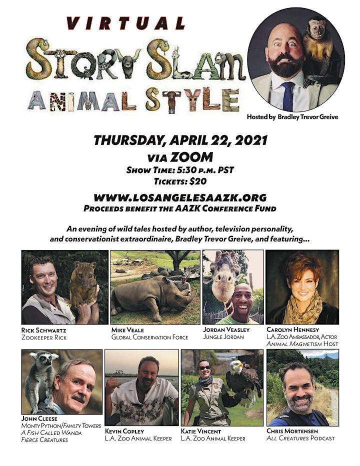 AAZK Story Slam 2021 image