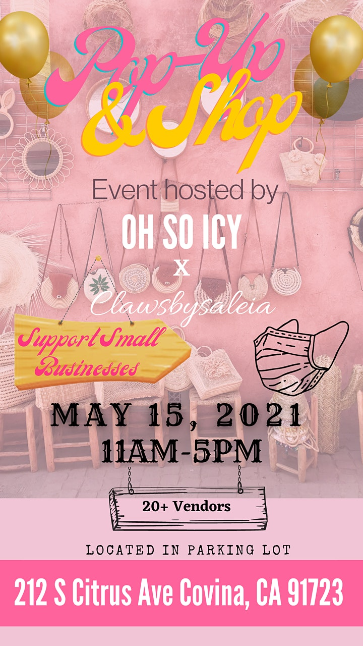 POP UP & SHOP - Hosted by OH SO ICY x Clawsbysaleia image