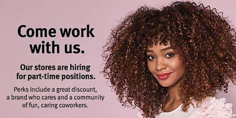 Aveda Open Interview for Available Part Time Positions tickets