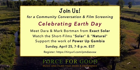 Force For Good - Celebrating Earth Day tickets