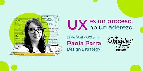 Lanzamiento oficial Más mujeres Ux Bogotá entradas