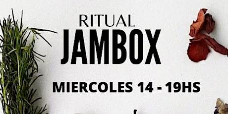 Ritual-JAMBOX entradas