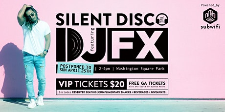 Silent Disco in the Park tickets