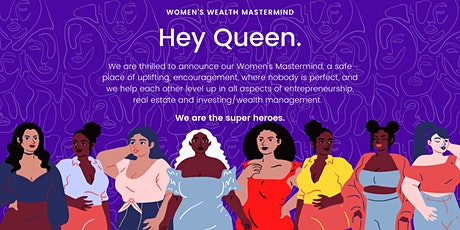 Hey Queen: Women's Mastermind for Entrepreneurship tickets