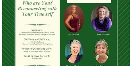 Who Are You? Reconnecting with your True Self tickets