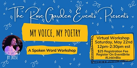 My Voice, My Poetry: A Spoken Word Workshop tickets