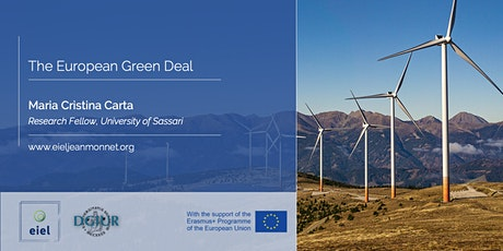 EIEL Guest Lecture | Maria Cristina Carta on the European Green Deal tickets