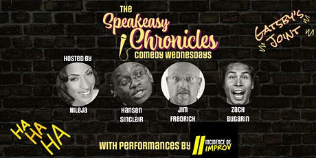 Comedy Wednesdays @Gatsby's Joint! tickets