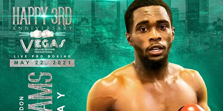 Daron Williams Vegas Grand Boxing 5/22/21 Fight Night! tickets