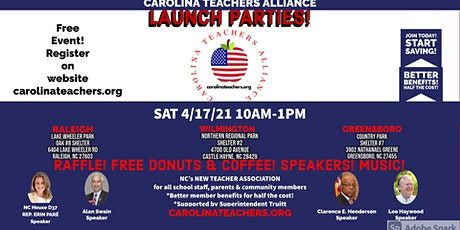 GREENSBORO-CAROLINA TEACHERS ALLIANCE LAUNCH PARTY tickets