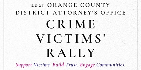 2021 Orange County District Attorney's Office Crime VIctims' Rally tickets