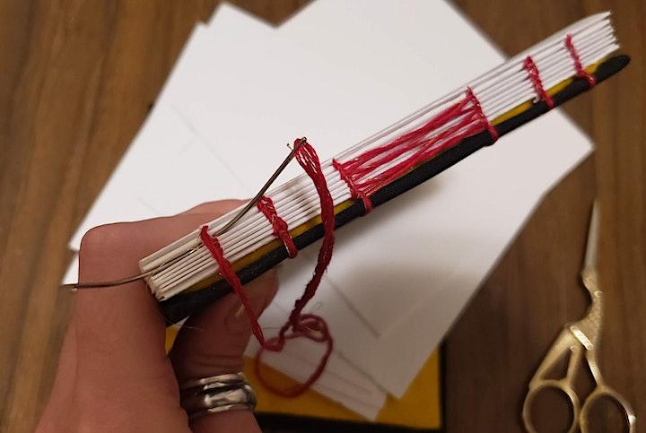 Bookbinding Workshop: Let's Bind Some Sketchbooks - Jun 24, 6:00pm - 8:30pm image