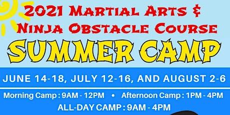 July Summer Camp tickets
