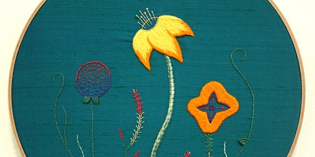 Introduction to Embroidery: Contemporary Flower tickets