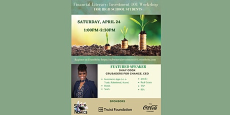 Financial Literacy: Investment 101 tickets