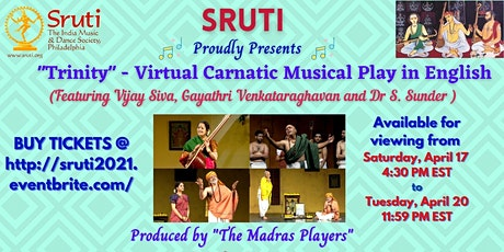 """Trinity"" a Carnatic Musical Play in English tickets"