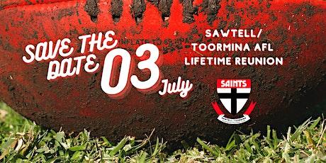 Sawtell/ Toormina AFL - Lifetime Reunion tickets