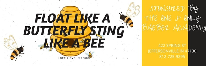 FLOAT LIKE A BUTTERFLY STING LIKE A BEE WOMEN'S CONFERNCE image