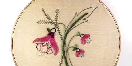 Introduction to Embroidery: Traditional Flower tickets