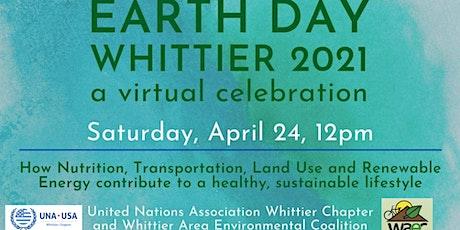 Whittier's Earth Day Celebration 2021 tickets
