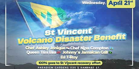 St Vincent Volcano Disaster Benefit tickets