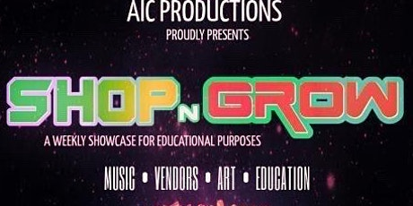 Shop N Grow April 16th tickets