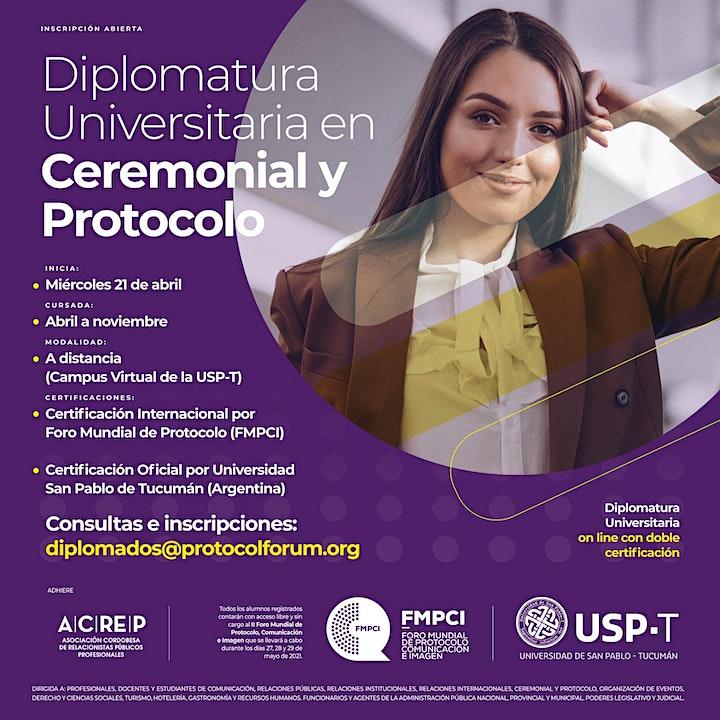 Imagen de Diplomatura Universitaria en Ceremonial y Protocolo