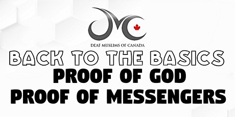 BACK TO THE BASICS 1: Proof of God & the Messengers entradas