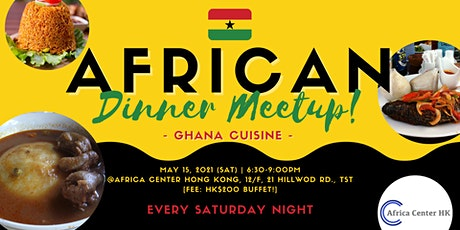 African Dinner Meetup (Ghana Cuisine) tickets