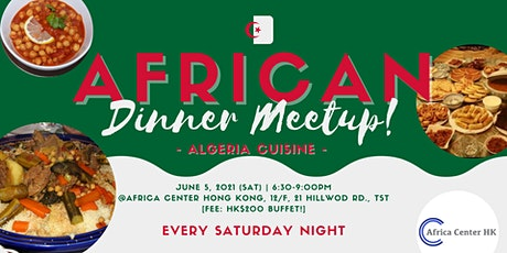 African Dinner Meetup (Algerian Cuisine) tickets