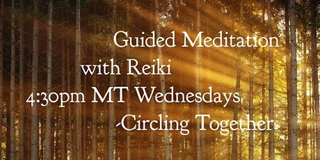 Weekly Guided Meditation with Reiki ingressos