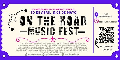 ON THE ROAD MUSIC FEST entradas
