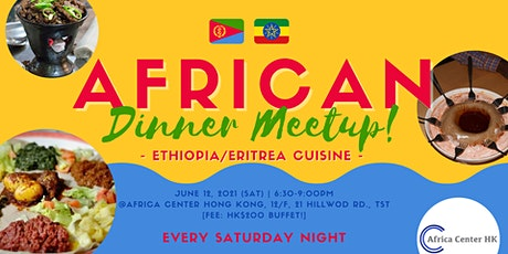 African Dinner Meetup (Eritrean/Ethiopian Cuisine) tickets