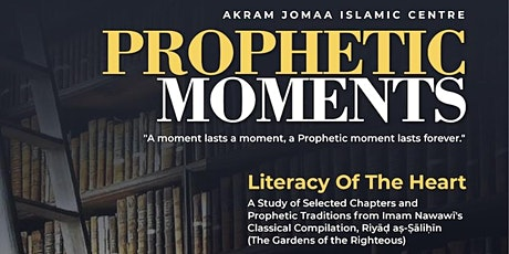 Prophetic Moments tickets