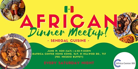 African Dinner Meetup! (Senegal Cuisine) tickets