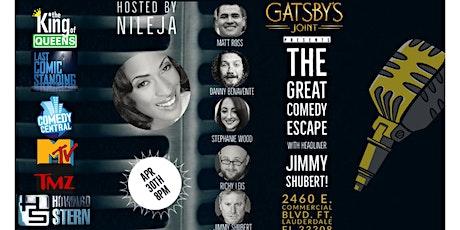 Comedy Escape w/ Jimmy Shubert! tickets