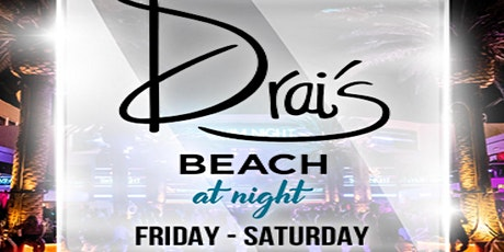 Drais beach at night tickets