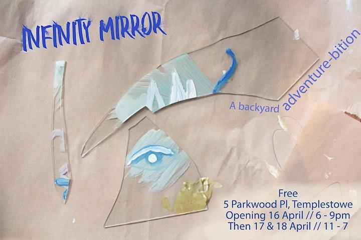 Infinity Mirror Art Exhibition // A Backyard Adventure-bition image