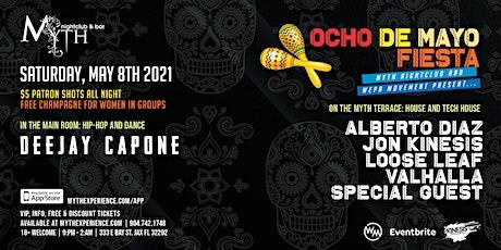 Ocho De Mayo at Myth Nightclub | Saturday 05.08.21 tickets